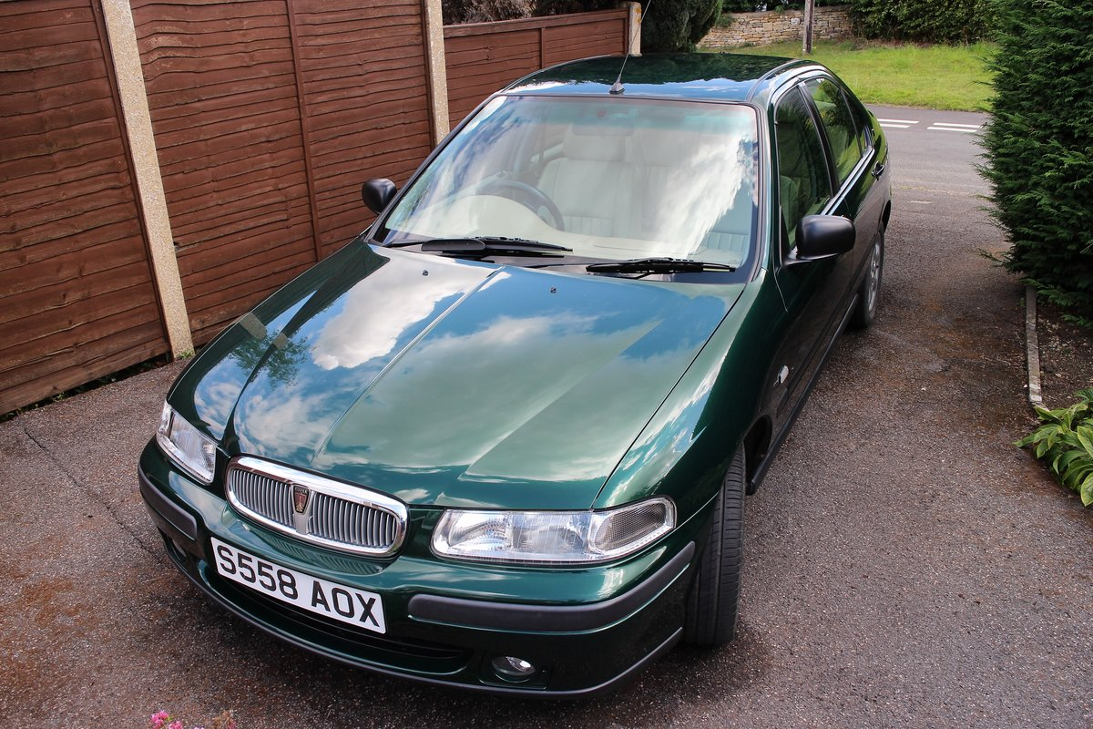 1999 Rover 400 GSI 4dr Saloon For Sale (picture 3 of 6)