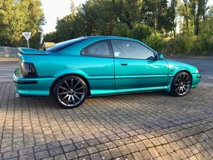 Rover 220 Coupe, Polynesian Turquoise