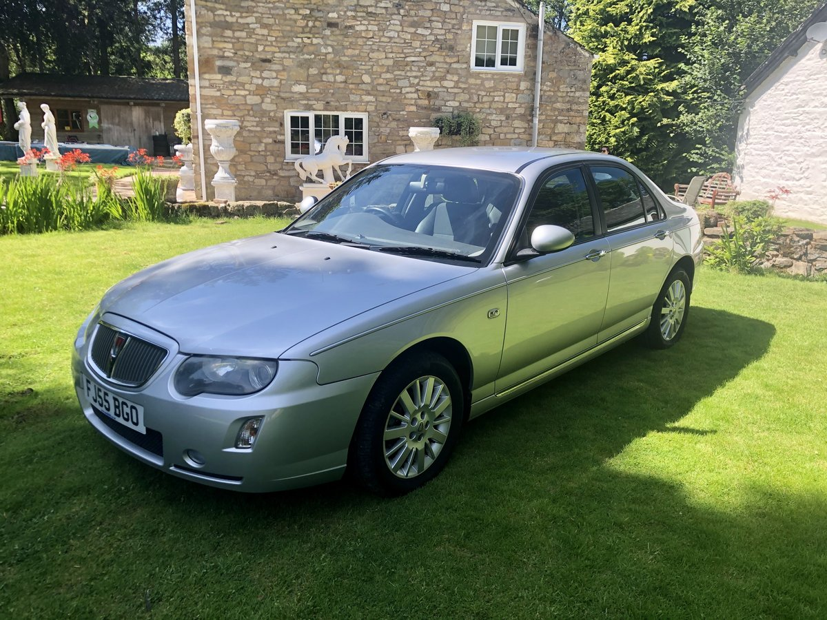 2005 STUNNING ROVER 75 2.0cdti AUTO CONTEMPORARY 11,000 Miles  For Sale (picture 1 of 6)