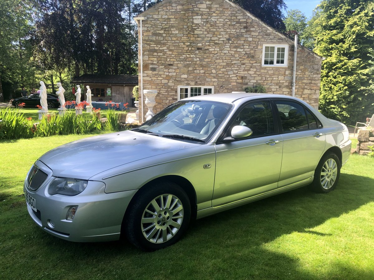2005 STUNNING ROVER 75 2.0cdti AUTO CONTEMPORARY 11,000 Miles  For Sale (picture 2 of 6)