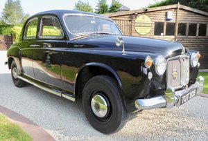 Rover P4 100  ( last owner 28 years )