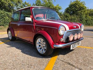 1998 Rover Mini Cooper Sportspack. 1275cc. Knightfire red.