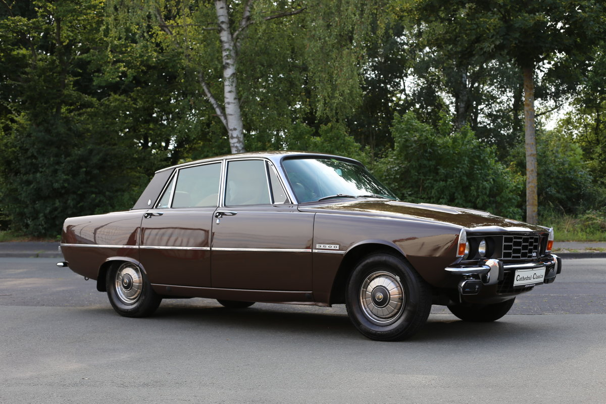 1971 An every-day classic Rover P6 3500 automatic  For Sale (picture 1 of 6)