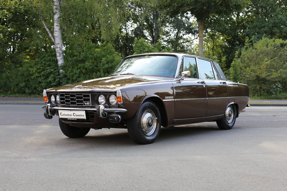 1971 An every-day classic Rover P6 3500 automatic  For Sale (picture 2 of 6)