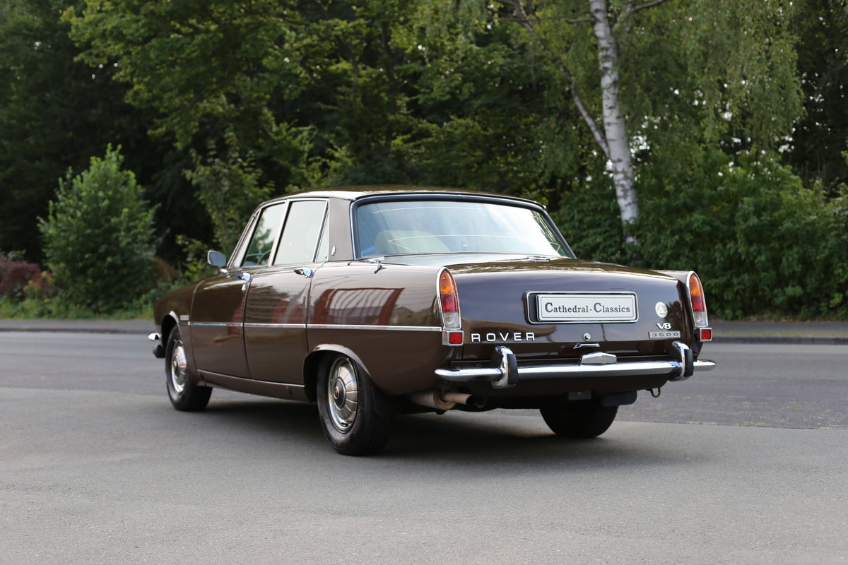 1971 An every-day classic Rover P6 3500 automatic  For Sale (picture 3 of 6)