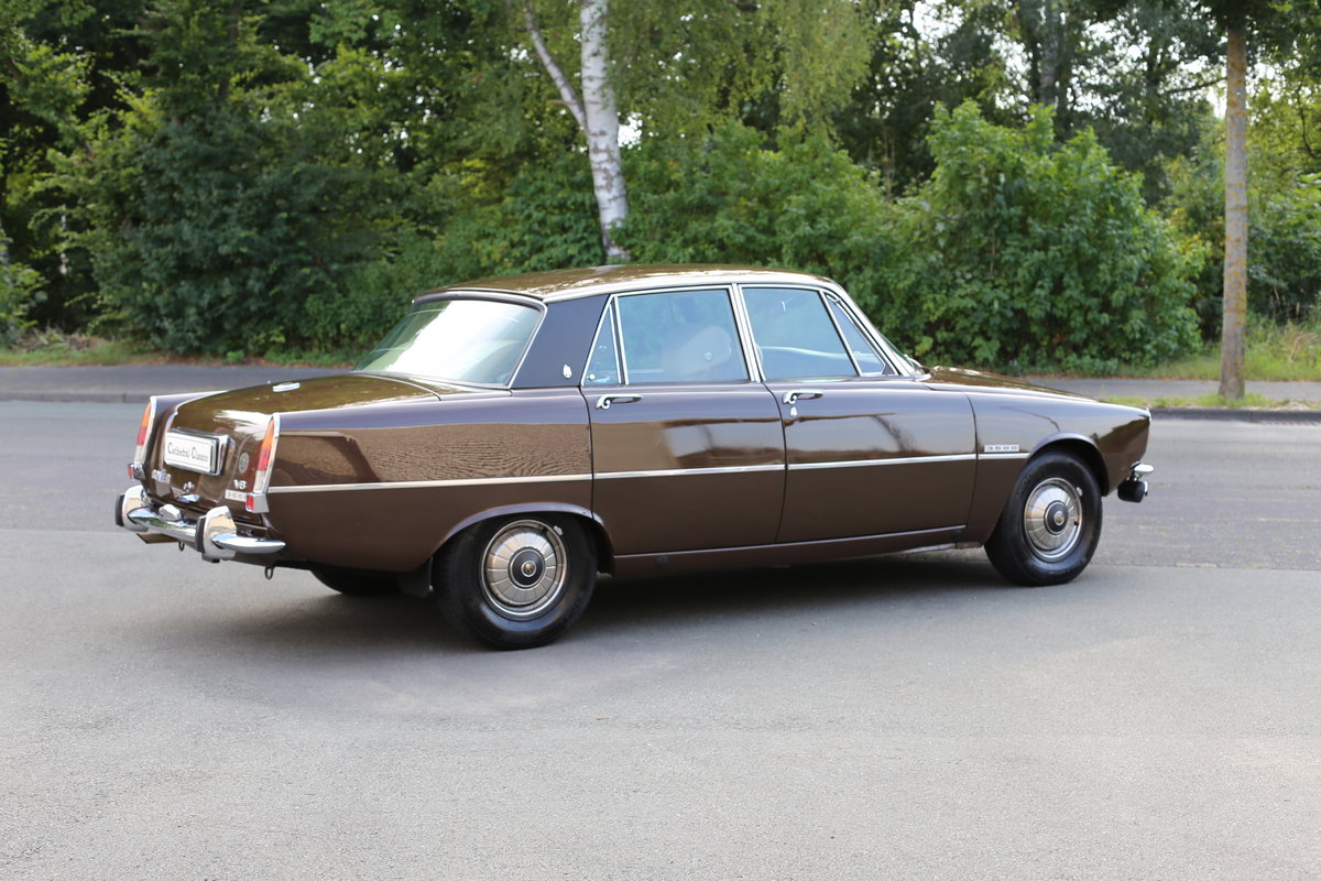 1971 An every-day classic Rover P6 3500 automatic  For Sale (picture 6 of 6)