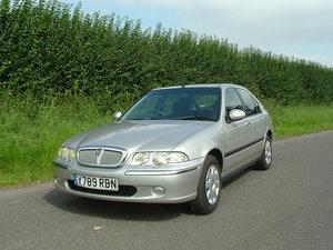 Picture of 2001 01/Y Rover 45 1.4i L 16v 5dr. 1 owner/45000 miles/FSH.  SOLD