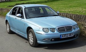 Picture of 2002 Rover 75 Connoisseur. Diesel Manual. Full leather interior SOLD