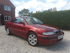 Rover Coupe 220 Turbo - unmodified