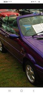1997 Very rare Rover 114 Cabriolet