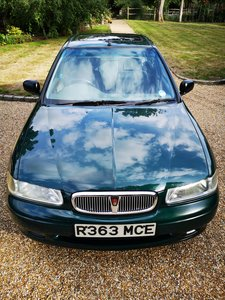1998 Rover 414 in excellent order. Very economical