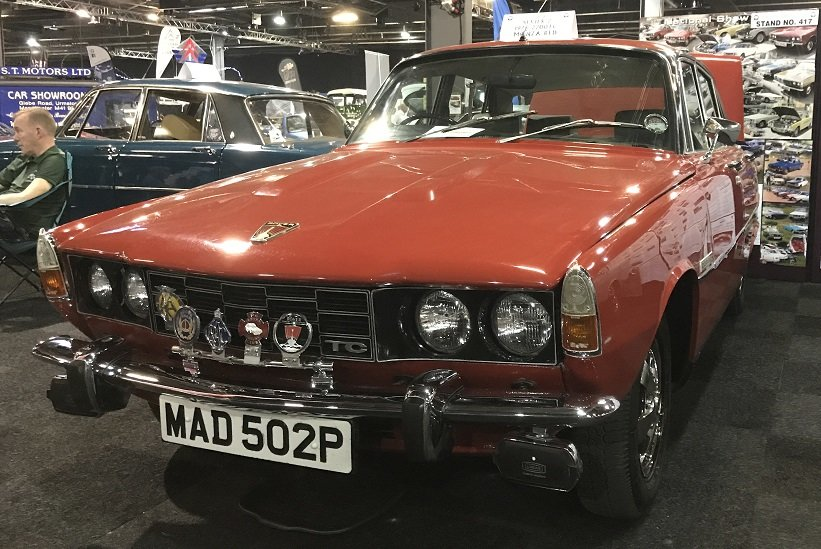 1976 Rover P6 RARE OPPORTUNITY SOLD (picture 5 of 6)