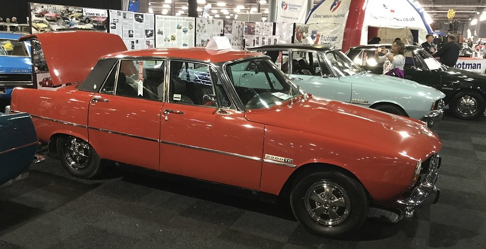 1976 Rover P6 RARE OPPORTUNITY SOLD (picture 6 of 6)
