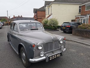 Rover 105R 1958 - To be auctioned 30-10-20 For Sale by Auction