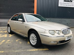 *UPDATE* ROVER 75 2.5 CONNOISSEUR SE AUTO 43k EARLY COWLEY