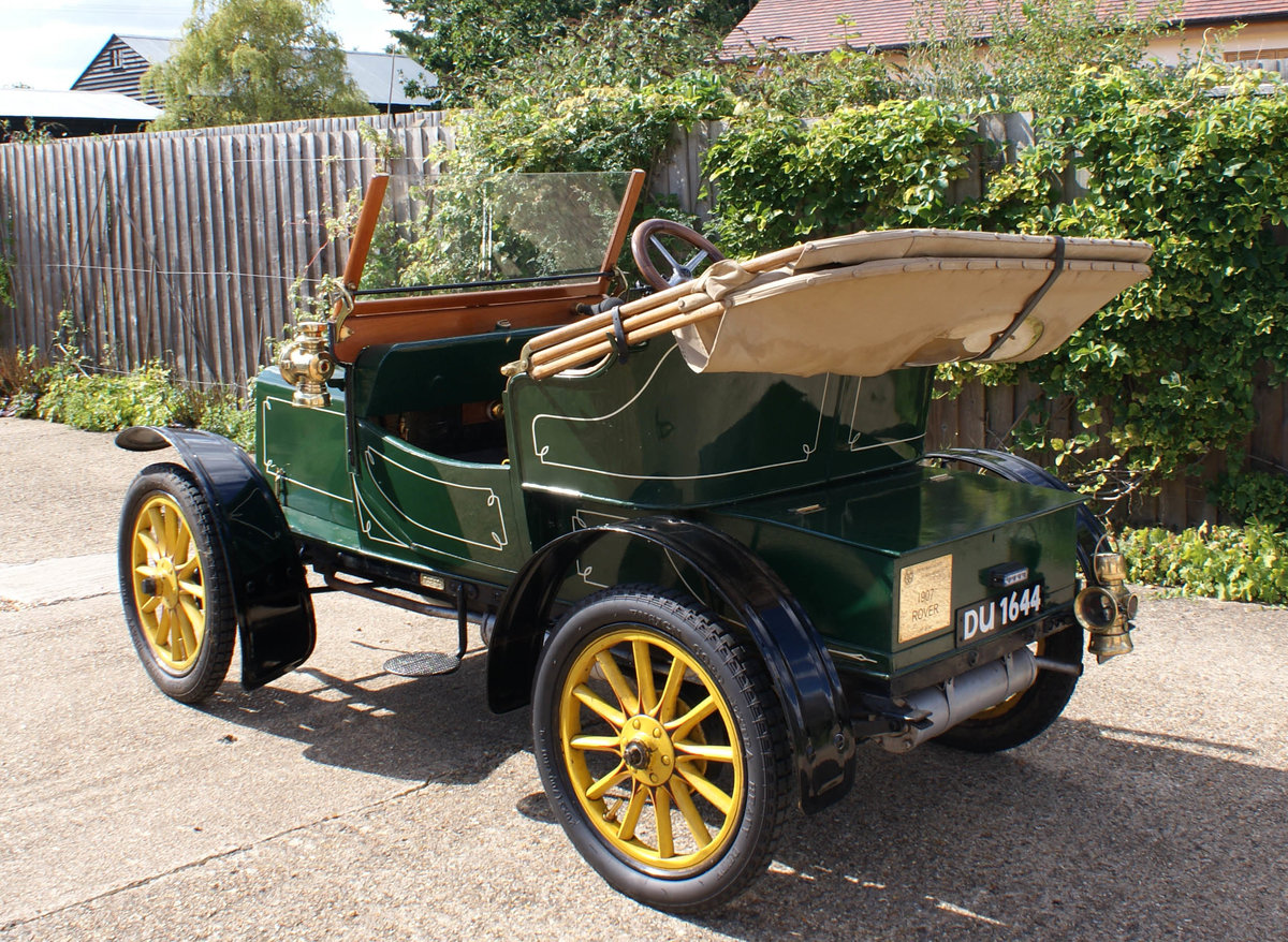 1907 Rover 6 2 Seater For Sale (picture 3 of 6)
