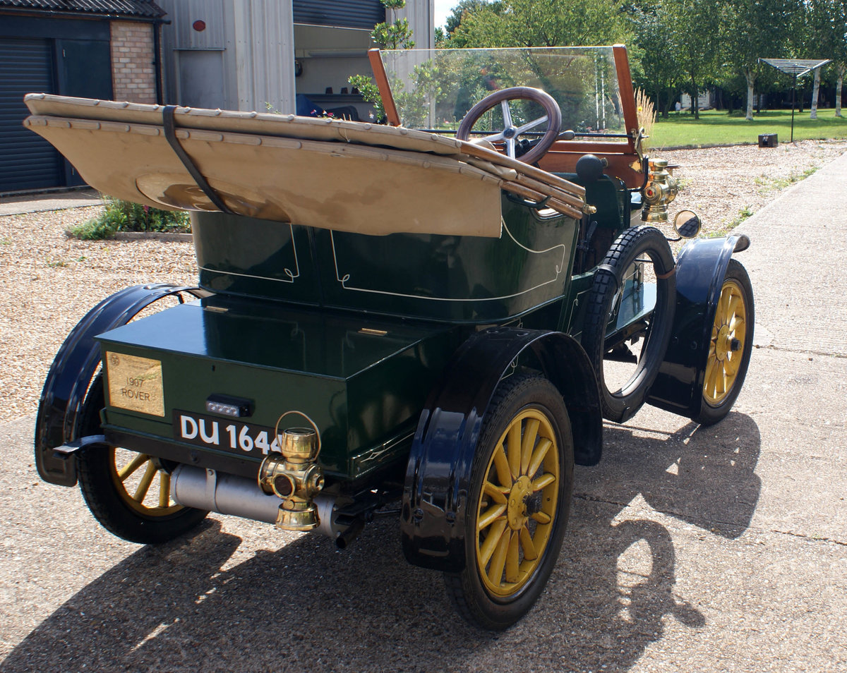 1907 Rover 6 2 Seater For Sale (picture 4 of 6)