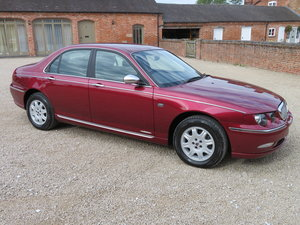 ROVER 75 CLUB SE 2.0 V6 MANUAL 2001 25,265 MILES FROM NEW