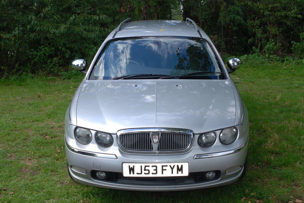 2003 Rover 75 Tourer 2.0 CDTi Connoisseur For Sale (picture 1 of 6)