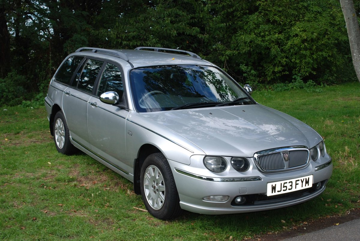 2003 Rover 75 Tourer 2.0 CDTi Connoisseur For Sale (picture 2 of 6)
