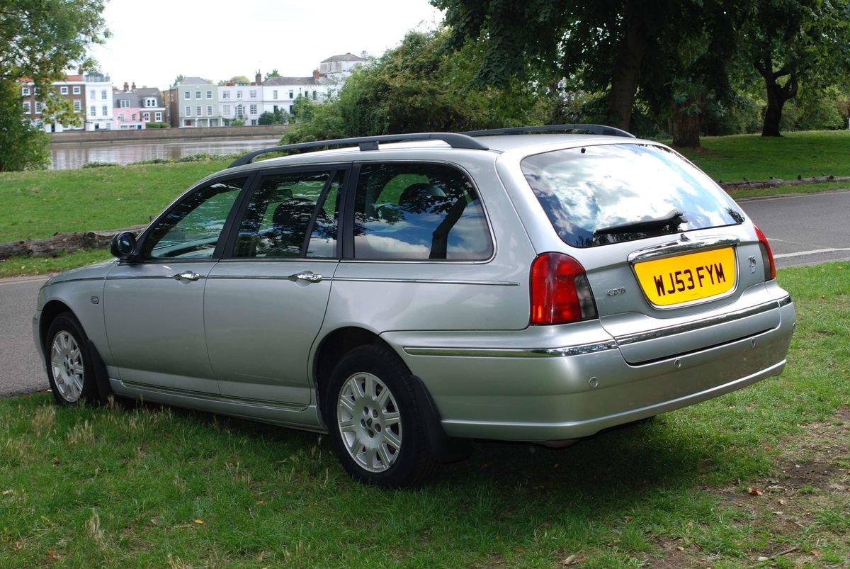 2003 Rover 75 Tourer 2.0 CDTi Connoisseur For Sale (picture 4 of 6)