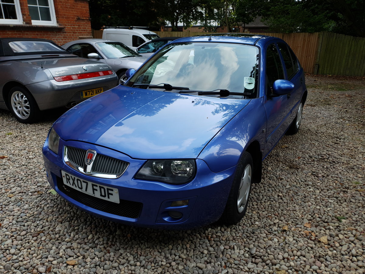 2007 Rare Late Rover 25 1.4 Just 23329 Miles  For Sale (picture 1 of 6)