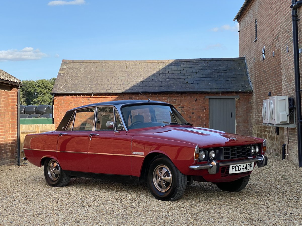 1976 Rover 3500 S. Power Steering. Free U.K Delivery For Sale (picture 1 of 6)