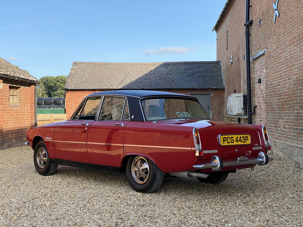 1976 Rover 3500 S. Power Steering. Free U.K Delivery For Sale (picture 2 of 6)