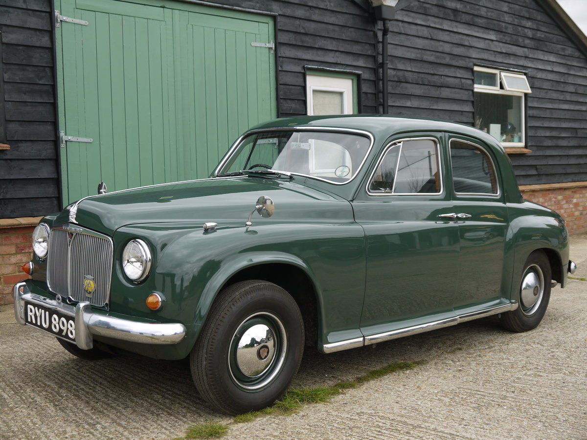 1955 ROVER P4 75 For Sale (picture 2 of 6)