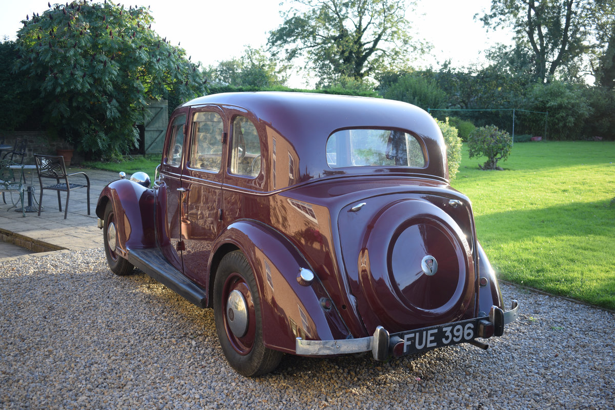 1947 P2 ROVER 12 - LOVELY EXAMPLE OF RARE 40s LUXURY CLASSIC For Sale (picture 4 of 6)