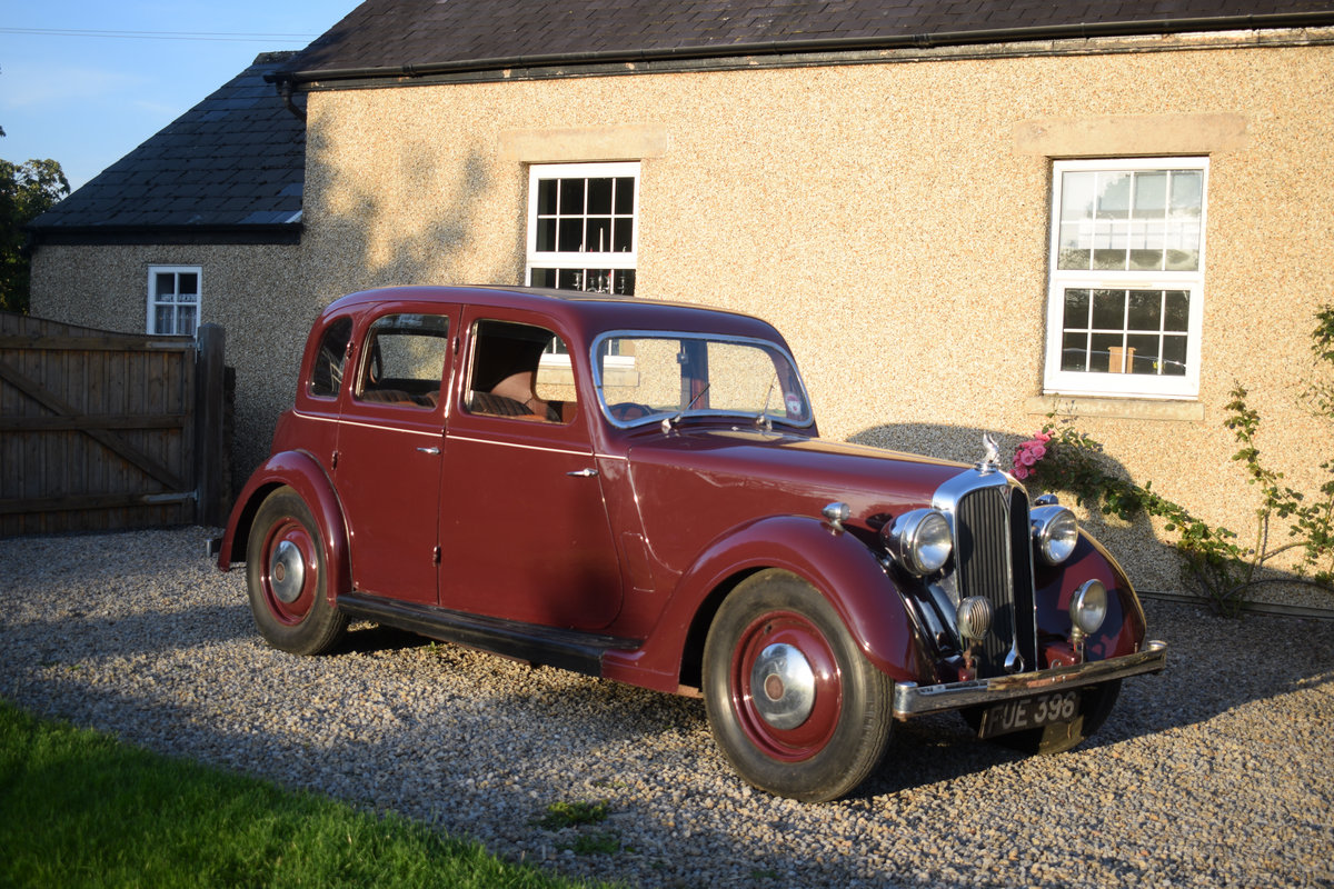 1947 P2 ROVER 12 - LOVELY EXAMPLE OF RARE 40s LUXURY CLASSIC For Sale (picture 5 of 6)