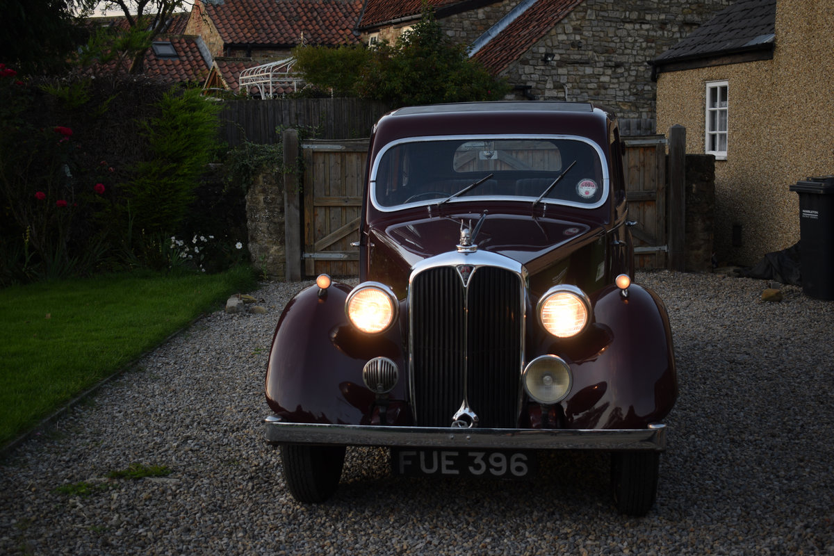 1947 P2 ROVER 12 - LOVELY EXAMPLE OF RARE 40s LUXURY CLASSIC For Sale (picture 6 of 6)