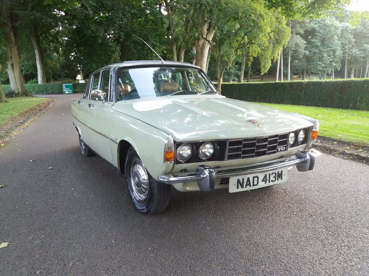 1974 Rover p6 2000tc For Sale (picture 1 of 6)