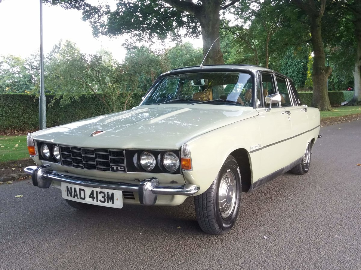 1974 Rover p6 2000tc For Sale (picture 2 of 6)