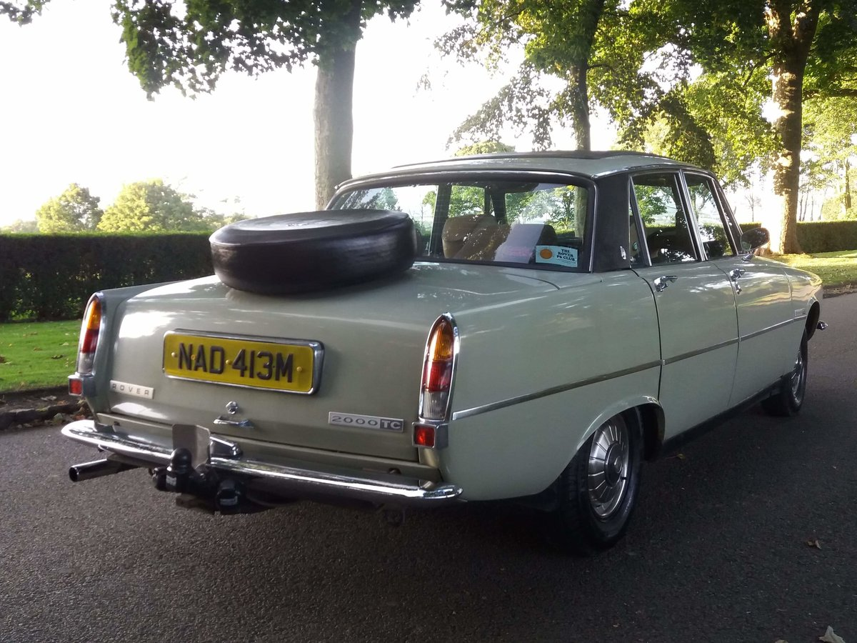 1974 Rover p6 2000tc For Sale (picture 3 of 6)