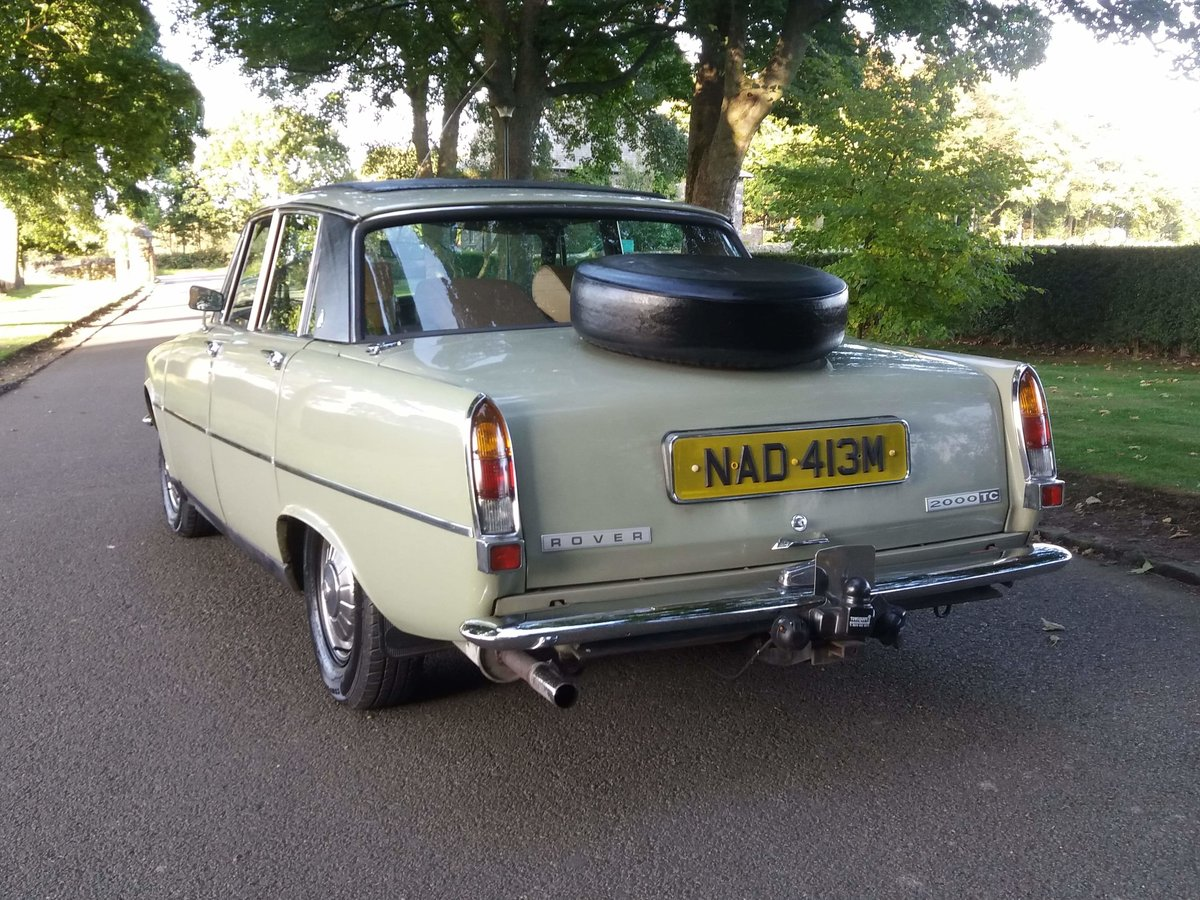 1974 Rover p6 2000tc For Sale (picture 4 of 6)