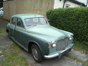 1958 Rover 90 - 2 owners - solid car