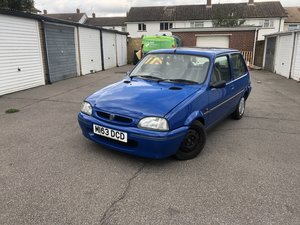1995 Rover Metro 111si (Very Low mileage with FSH) ONO