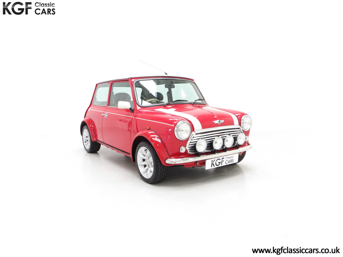 2000 A Rover Mini Cooper with Factory Sport Pack, 992 Miles SOLD (picture 1 of 24)