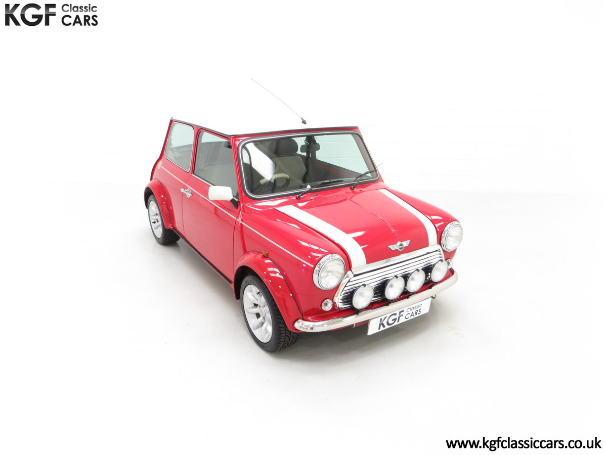 2000 A Rover Mini Cooper with Factory Sport Pack, 992 Miles SOLD (picture 2 of 24)