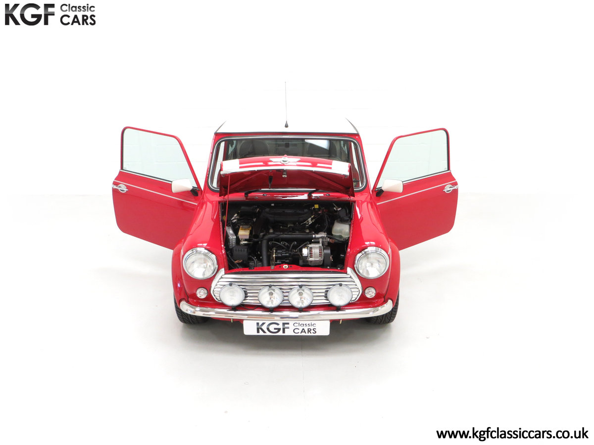 2000 A Rover Mini Cooper with Factory Sport Pack, 992 Miles SOLD (picture 4 of 24)