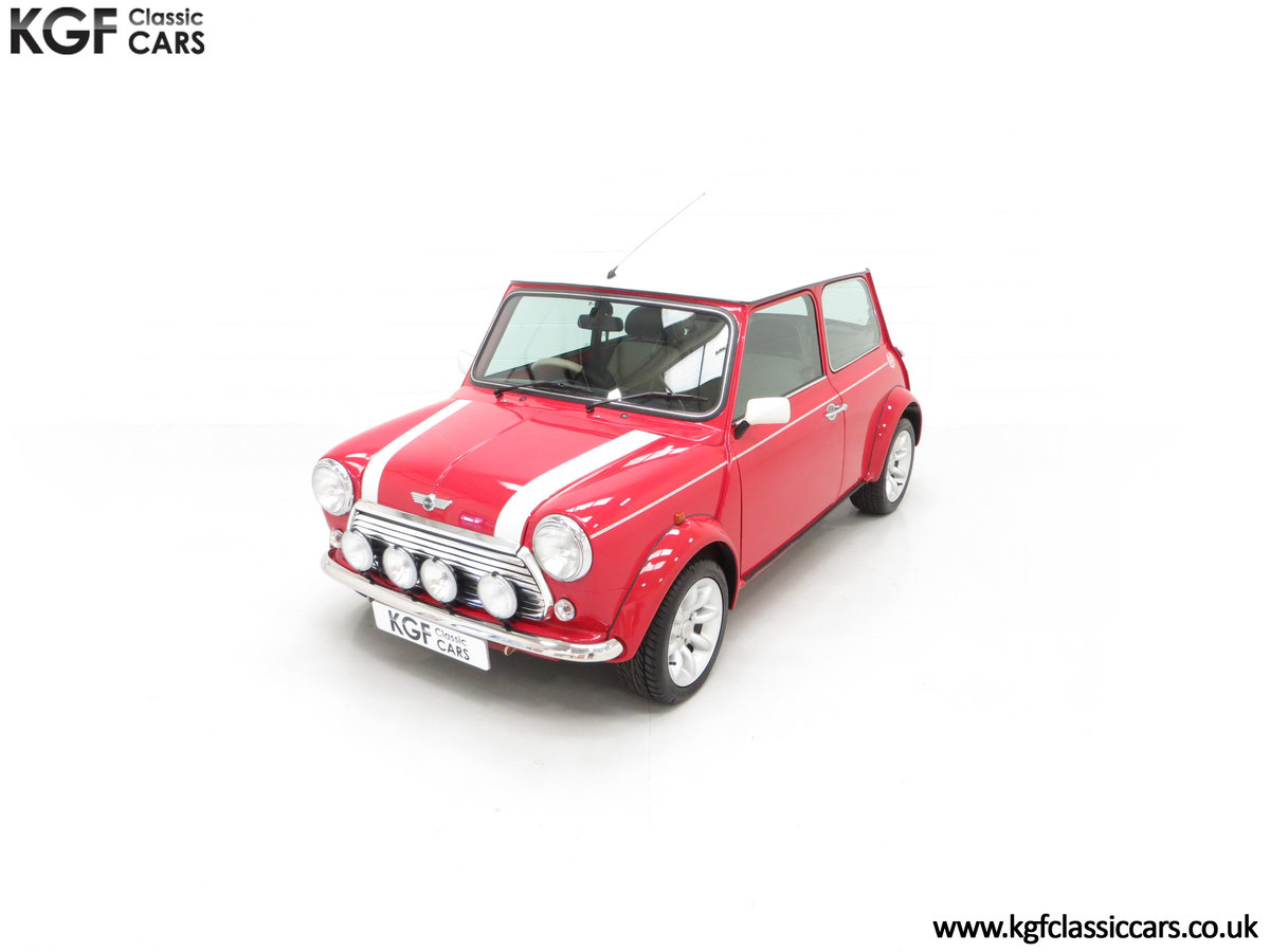 2000 A Rover Mini Cooper with Factory Sport Pack, 992 Miles SOLD (picture 5 of 24)
