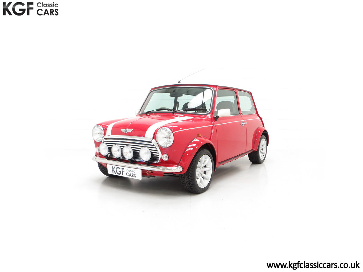 2000 A Rover Mini Cooper with Factory Sport Pack, 992 Miles SOLD (picture 6 of 24)