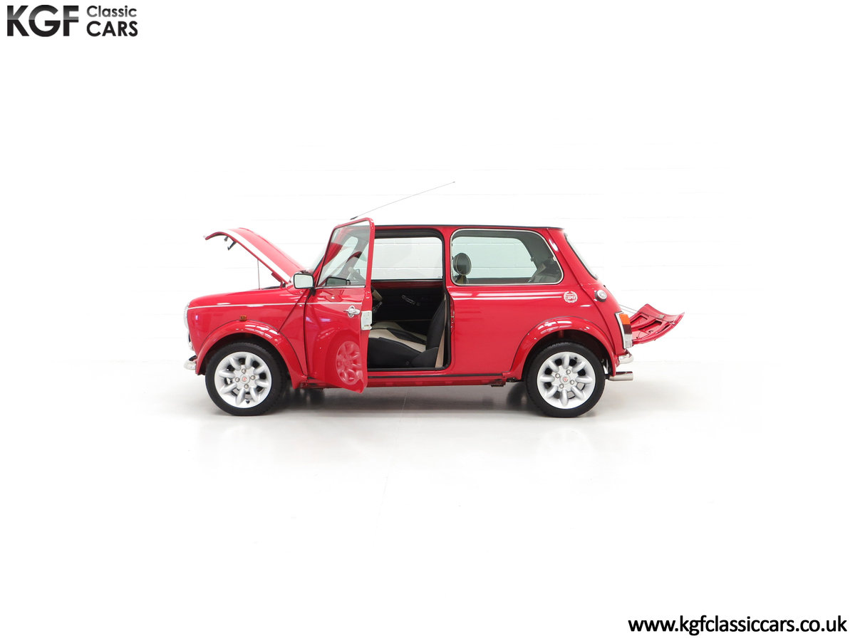 2000 A Rover Mini Cooper with Factory Sport Pack, 992 Miles SOLD (picture 7 of 24)