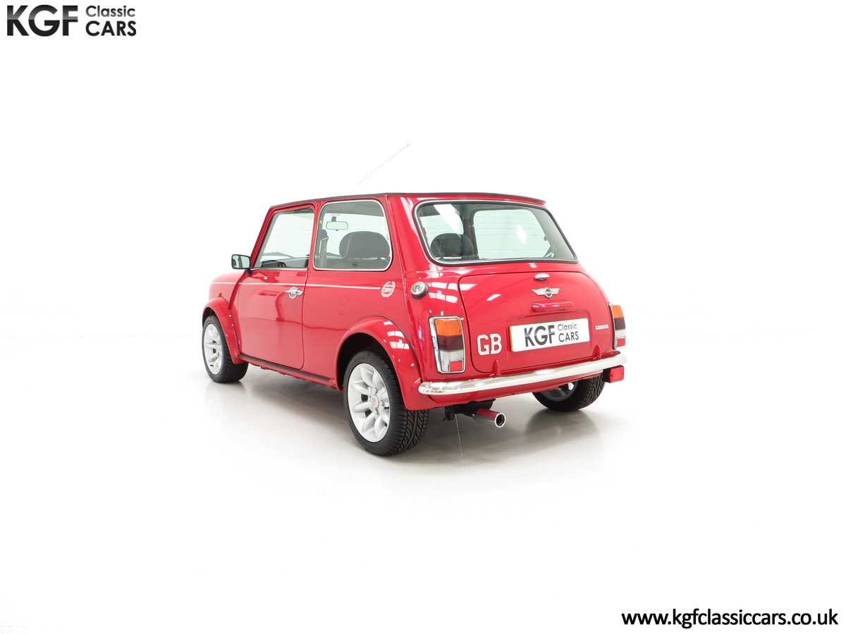 2000 A Rover Mini Cooper with Factory Sport Pack, 992 Miles SOLD (picture 8 of 24)
