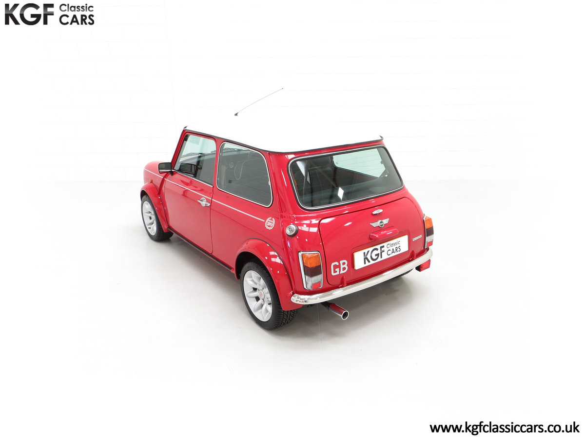 2000 A Rover Mini Cooper with Factory Sport Pack, 992 Miles SOLD (picture 9 of 24)