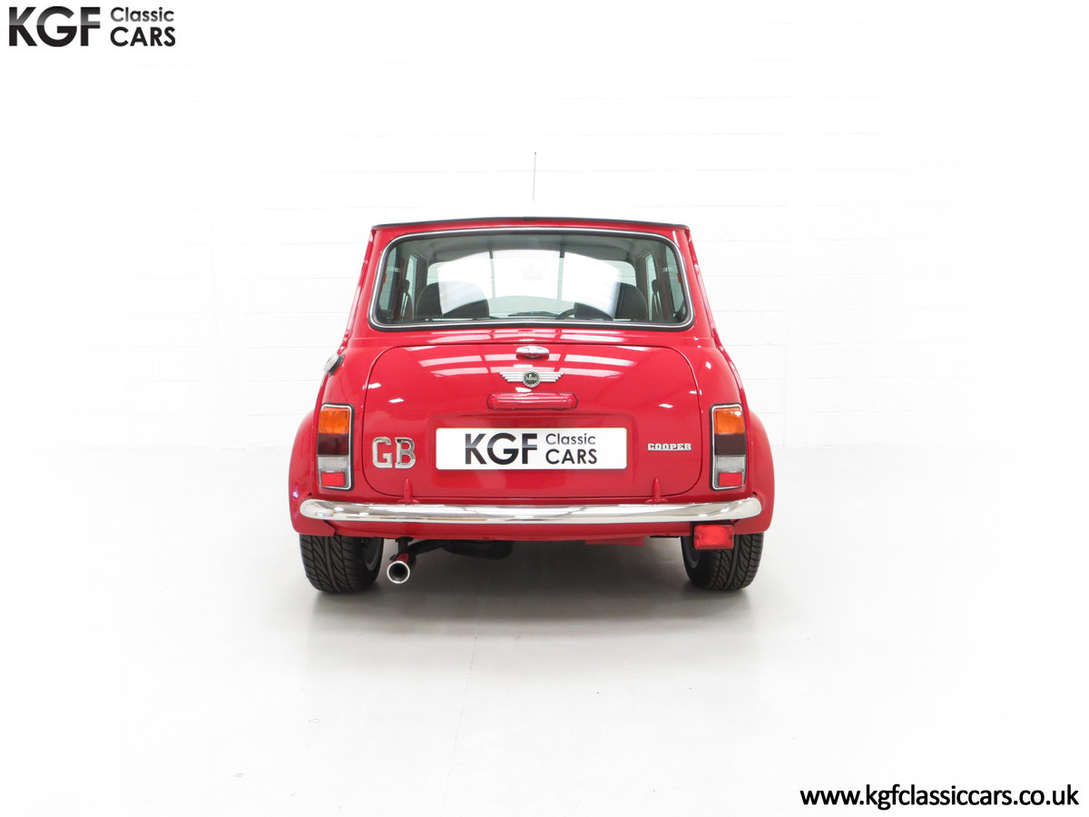 2000 A Rover Mini Cooper with Factory Sport Pack, 992 Miles SOLD (picture 10 of 24)