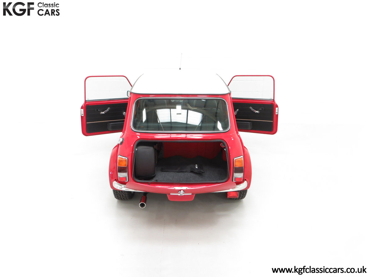 2000 A Rover Mini Cooper with Factory Sport Pack, 992 Miles SOLD (picture 11 of 24)