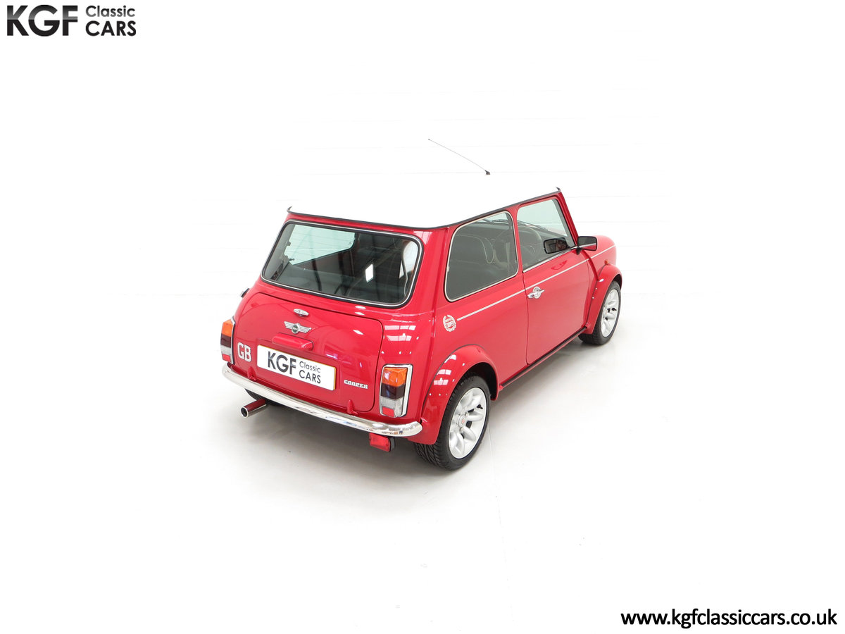 2000 A Rover Mini Cooper with Factory Sport Pack, 992 Miles SOLD (picture 12 of 24)