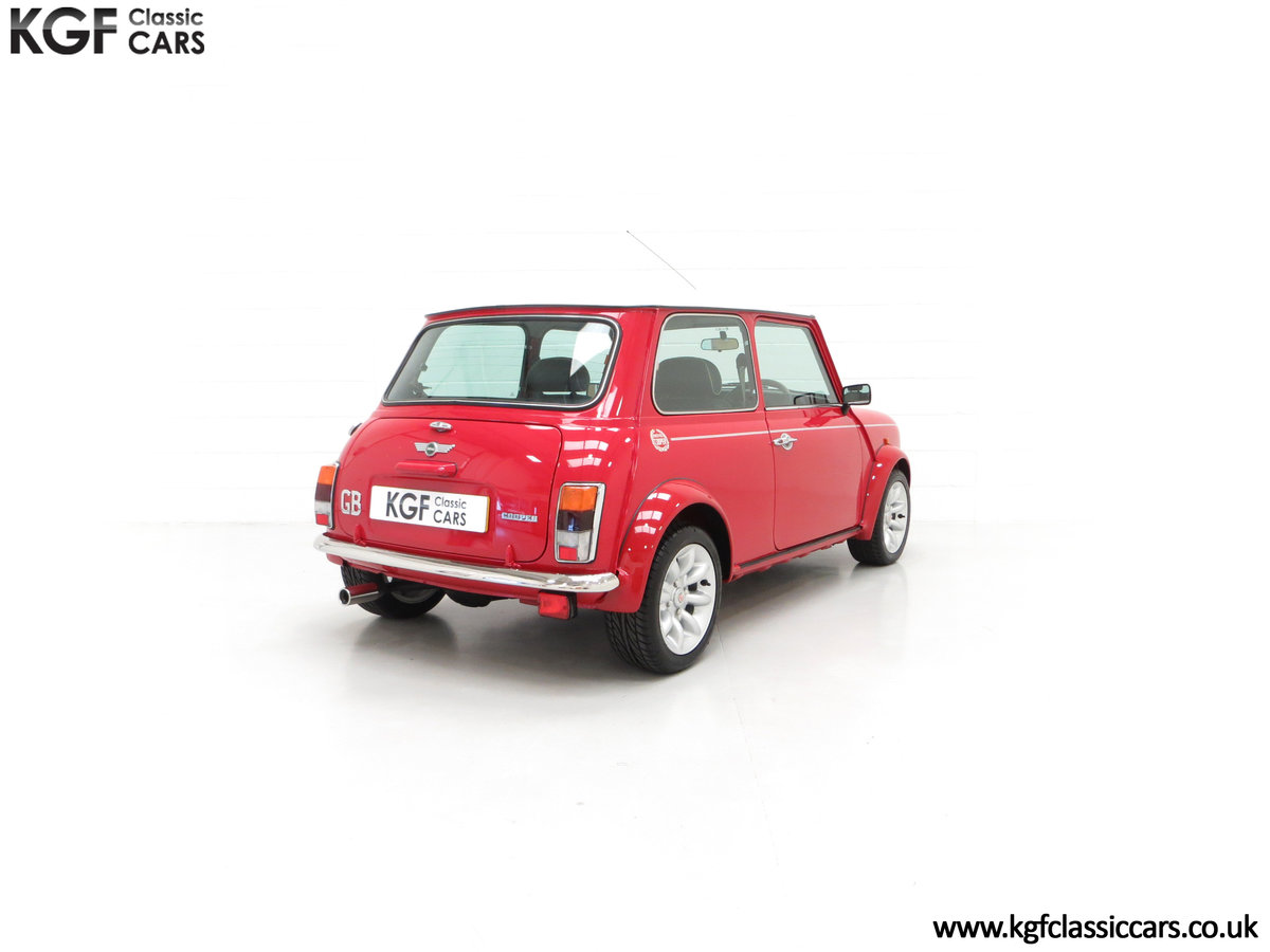 2000 A Rover Mini Cooper with Factory Sport Pack, 992 Miles SOLD (picture 13 of 24)